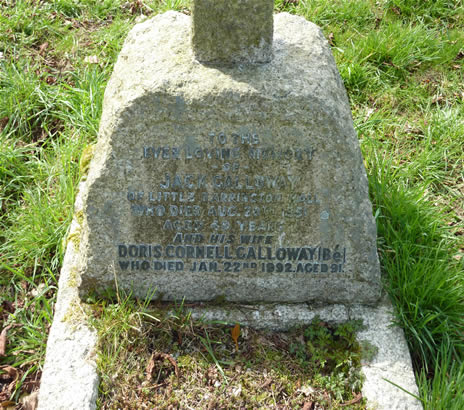 Be Galloway Grave 2
